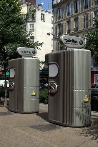 Paris Public Toilet